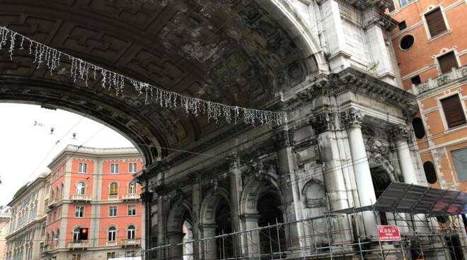 genova, ponte monumentale, restyling
