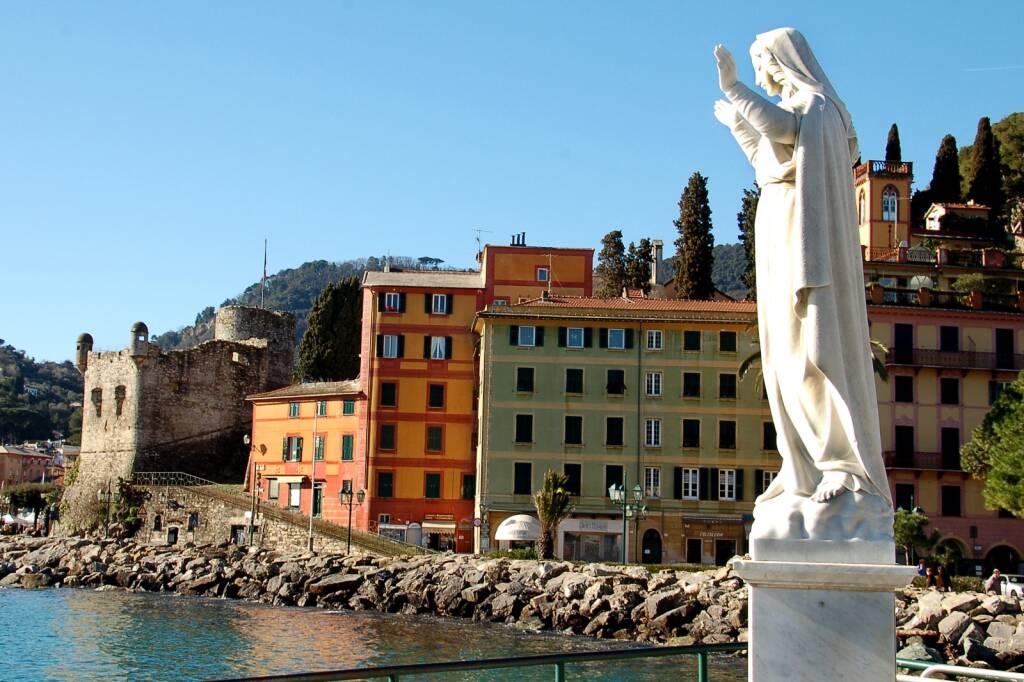 Il castello del '500 di Santa Margherita Ligure.