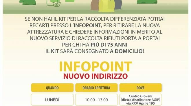 Infopoint di Pieve Ligure.
