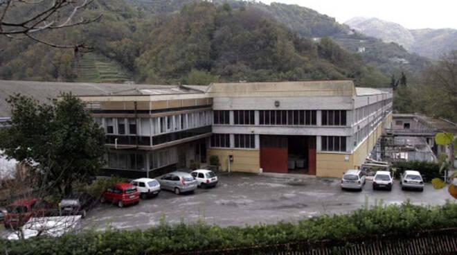 La lavanderia industriale San Giorgio di San Colombano Certenoli.