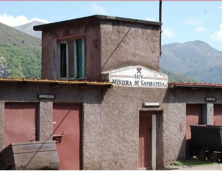 miniera di gambatesa (ph parco dell'aveto)