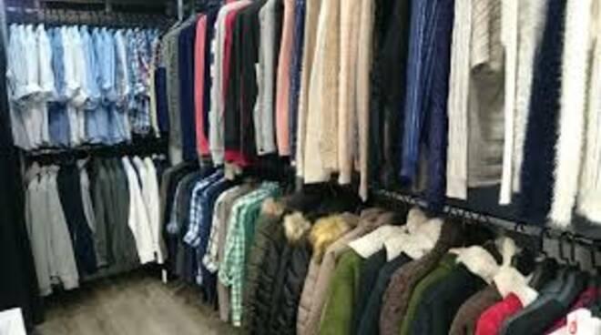 negozio, vestiti, abbigliamento