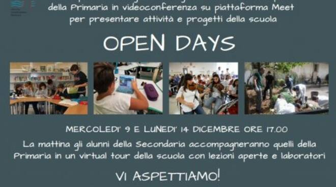 Open Day all'Istituto Comprensivo di Rapallo