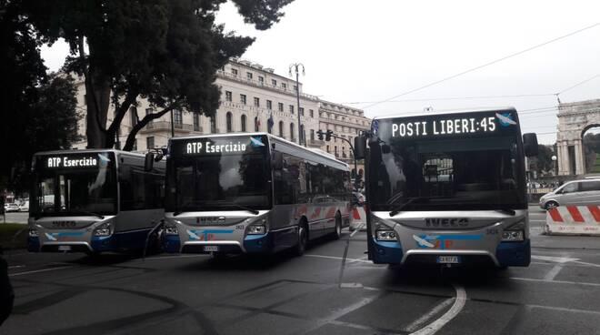 Presentazione dei nuovi bus ATP.