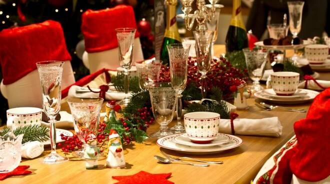 tavola, natale, pranzo, cena