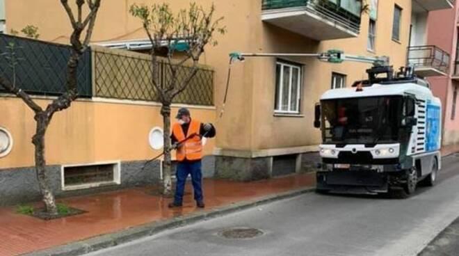 aprica, pulizia strade