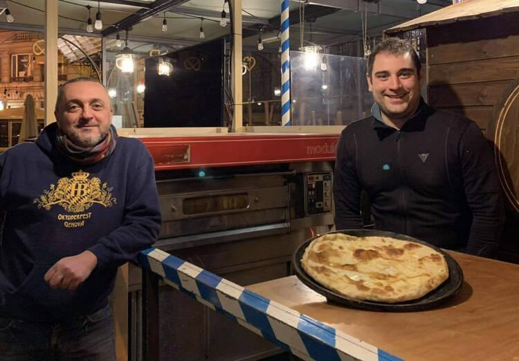 Balbi e Squarzati del ristorante Vitturin di Recco e della birreria HB di Genova.