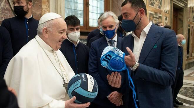 Felugo dal Papa (credits photo vatican.va)