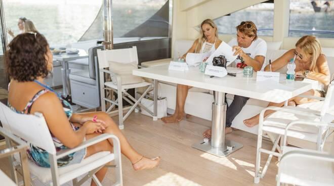 """Il casting di """"The Happines Experiment"""" a bordo dello Yacht"""