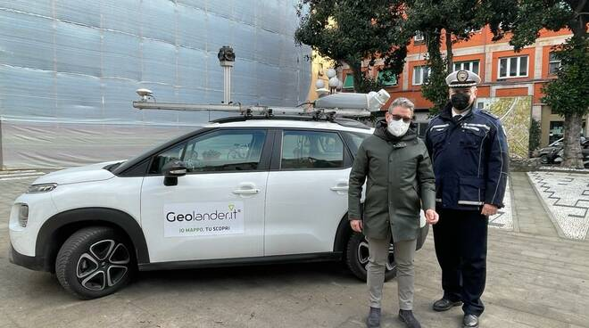 Il servizio Geolander che ha mappato in 3D tutta la città di Recco.