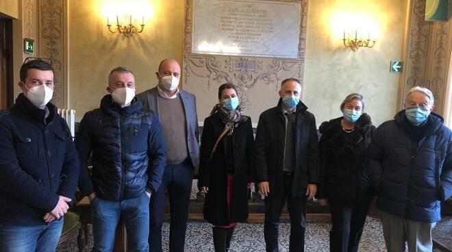 Il sindaco di Chiavari Marco Di Capua riceve a Palazzo Bianco il Direttore di ASL4 Dott. Paolo Petralia