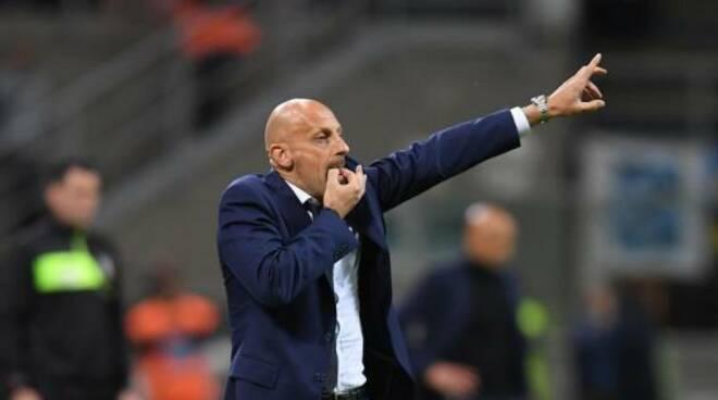 """L'allenatore del Vicenza """"Mimmo"""" Di Carlo"""