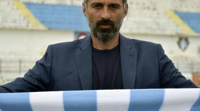 L'allenatore della Sanremese Bifini.