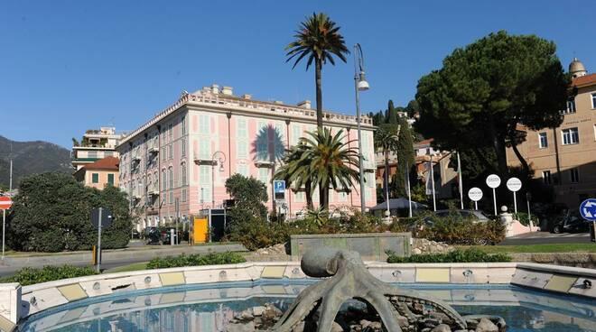 L'Hotel Europa di Rapallo.