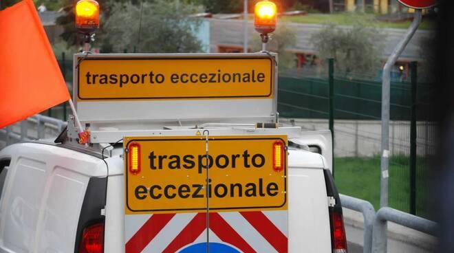 trasporto eccezionale (credits Benveduti su fb)