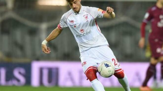 Vlad Dragomir in maglia Perugia.