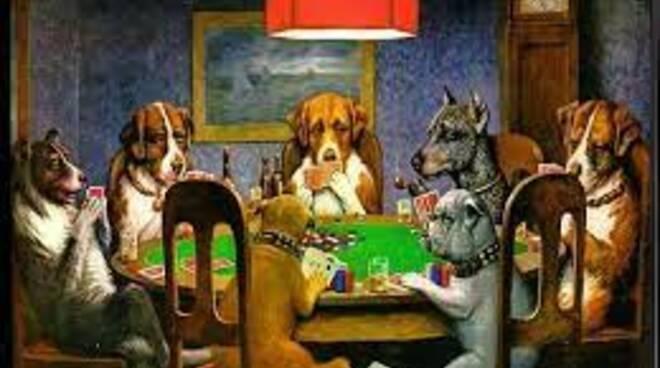 cani che giocano a poker (fiori all'occhiello)