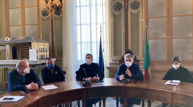 conferenza stampa a camogli