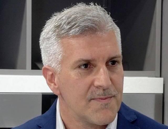 Il sindaco di Moconesi Giovanni Dondero.
