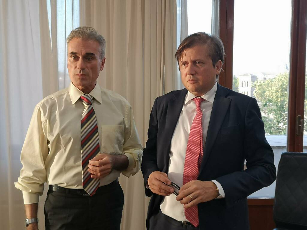 Incotro tra De Palma (Nursing Up) e Sileri, sottegretario alla Salute del Governo Draghi.