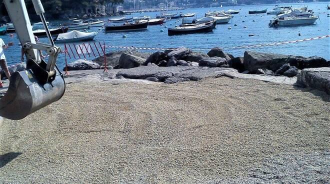 litorale, spiaggia, rapallo