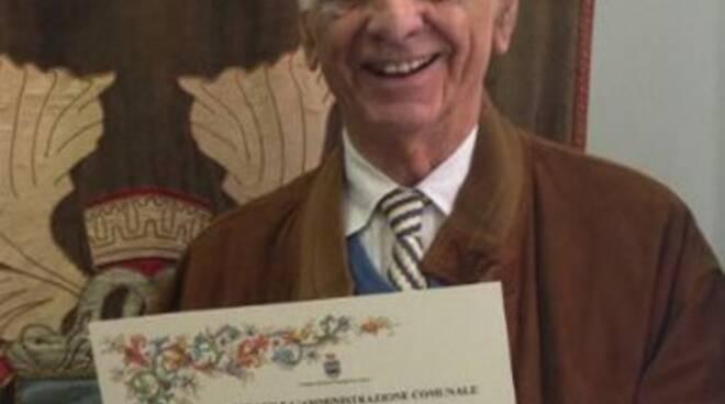 Lo scrittore Alfredo Bertollo.