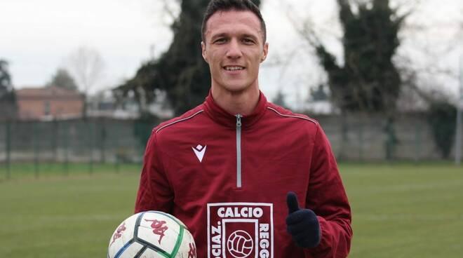 Luca Siligardi, neo acquisto della Reggiana.