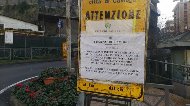 ordinanza a Camogli