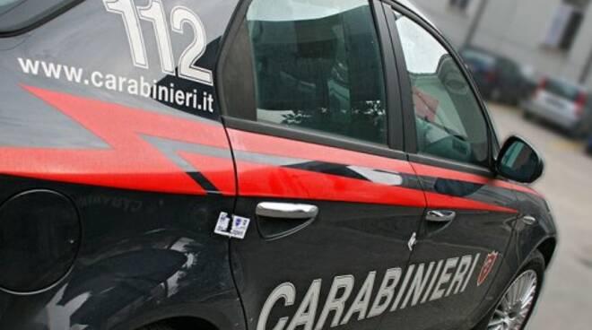 Pattuglia dei Carabinieri.