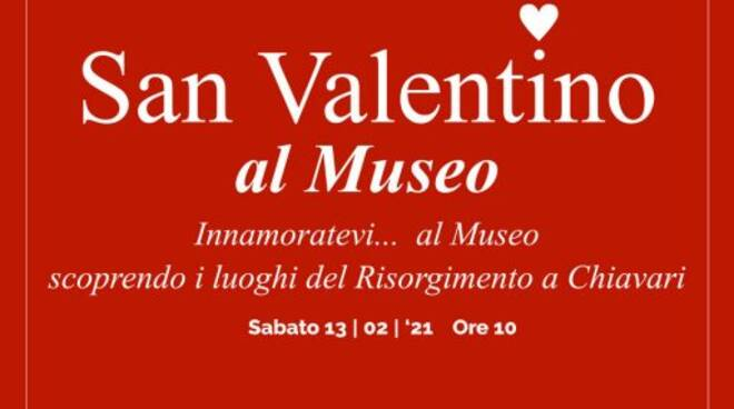 San Valentino al Museo a Chiavari.