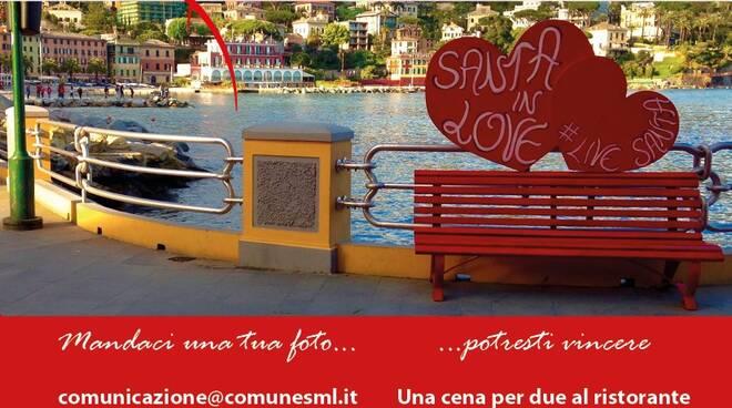 """""""Santa in Love"""" il concorso di San Valentino a Santa Margherita Ligure."""