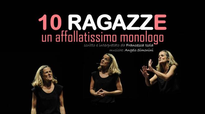 """Con """"10 ragazze"""" i centri commerciali Coop Liguria divenano palcoscenico."""