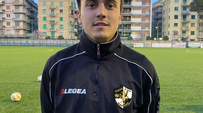 Giacomo Cecon, neo acquisto del Rapallo Rivarolese.