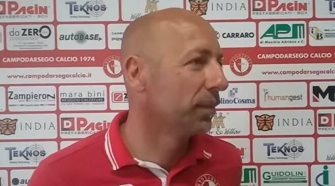 L'allenatore Cristiano Masitto.