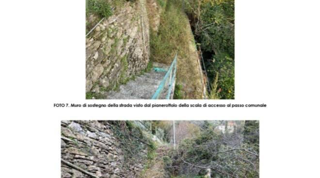 La frazione di Sant'Andrea di Foggia all'interno del Comune di Rapallo.