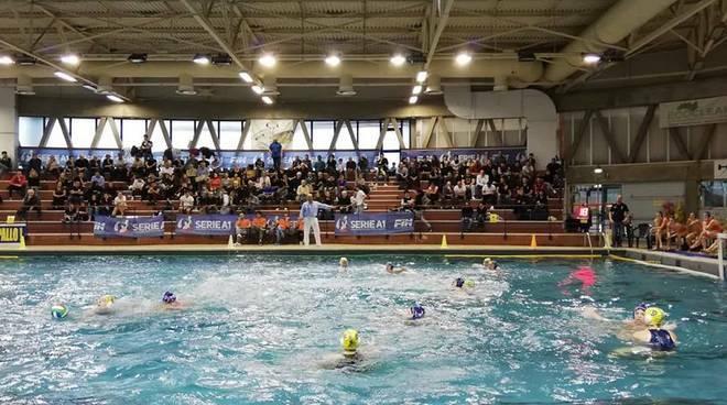 """La piscina """"Poggiolino"""" di Rapallo."""
