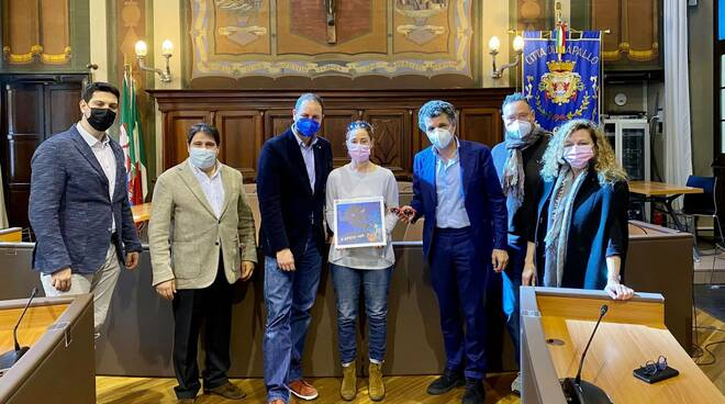 La presentazione del progetto #RiclAMI in sala consiliare del Comune di Rapallo.
