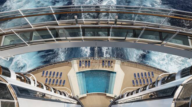 MSC Seaside Bridge of Sighs (credits Sarfatti)