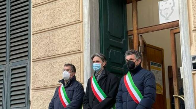 ricordo vittime covid a Santa Margherita