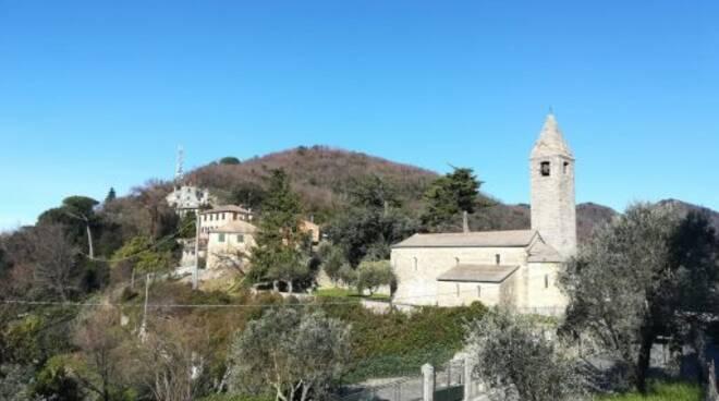 Santuario del Caravaggio a Rapallo.