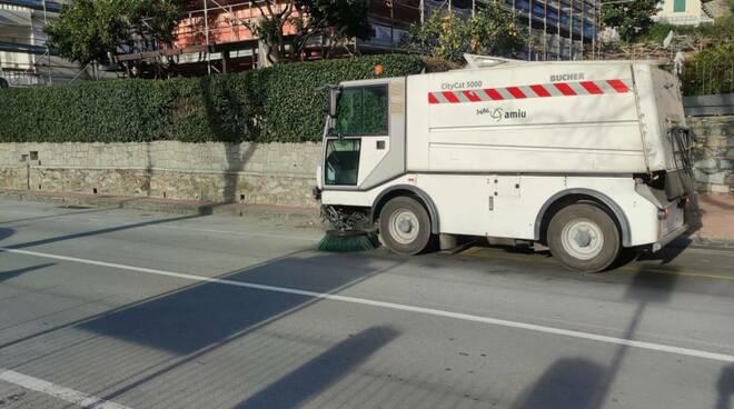 spazzamento meccanico strade