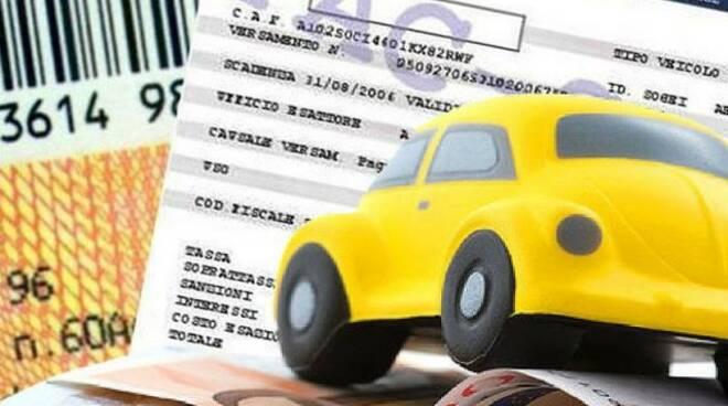 bollo auto, pagamento