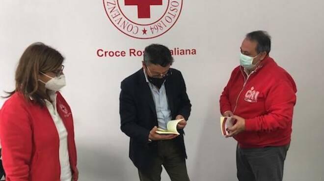 Brunetto con la Croce Rossa