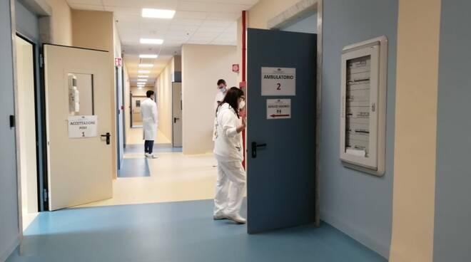 centro vaccinale al San Martino