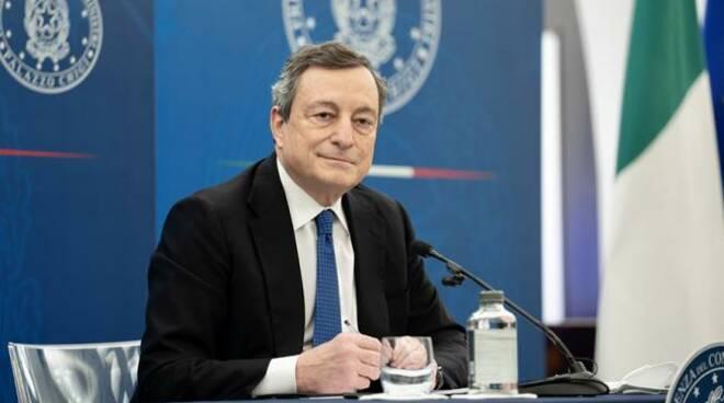 Mario Draghi (credits Governo)