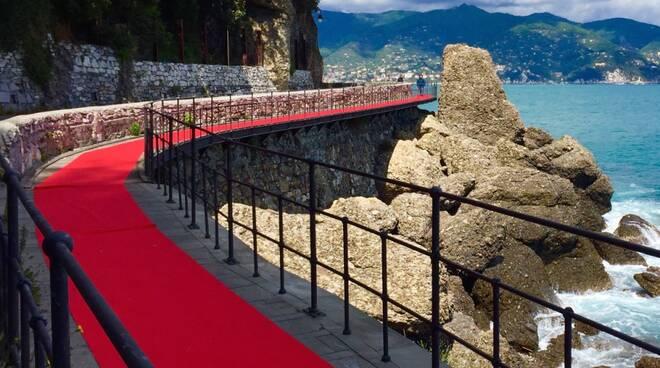 passerella red carpet, santa, cervara, paraggi