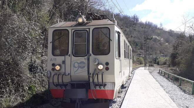 treno, fermata crocetta