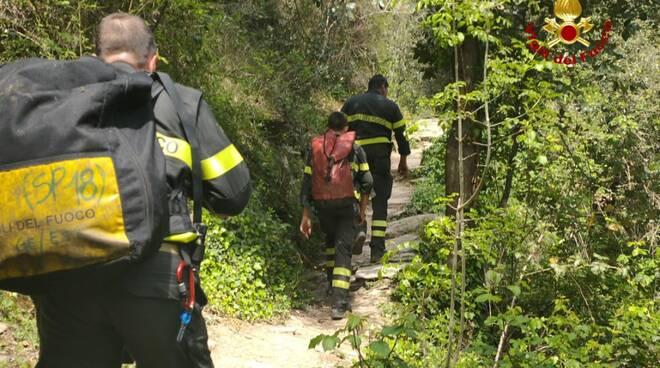 vigili del fuoco, escursioni