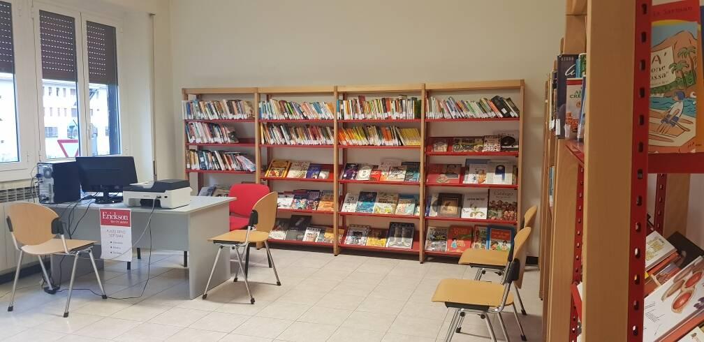 Biblioteca comunale di Carasco (ph Città Metropolitana)