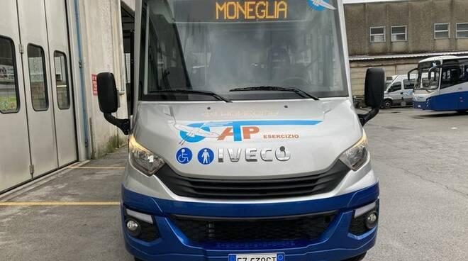 bus, navetta, moneglia